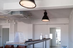 絶妙な空気感のあるオフィス