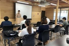 浜松学院大学 地域創造学科 渡部ゼミ皆さまご来社されました。