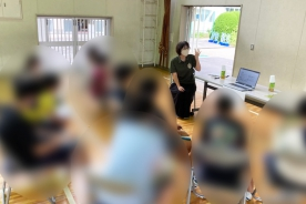 佐鳴台小学校 職業講和授業へ参加致しました。